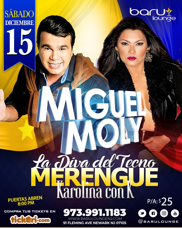 MIGUEL MOLLY & KAROLINA CON K