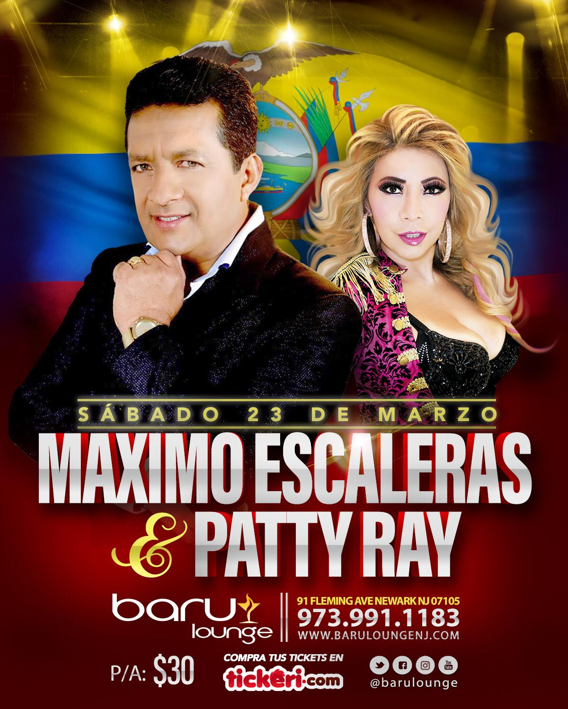 MAXIMO ESCALERAS & PATTY RAY