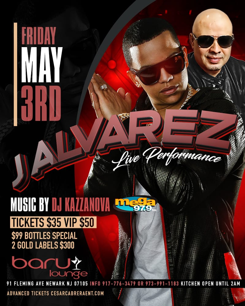 J ALVAREZ LIVE PERFORMANCE